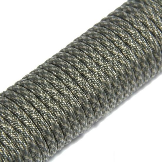 """Паракорд 550, серый камуфляж """"Grey camo"""" (4 мм), 30 метров"""