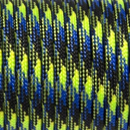 """Паракорд 550, зеленый+синий """"Green+blue"""" (4 мм), 30 метров"""