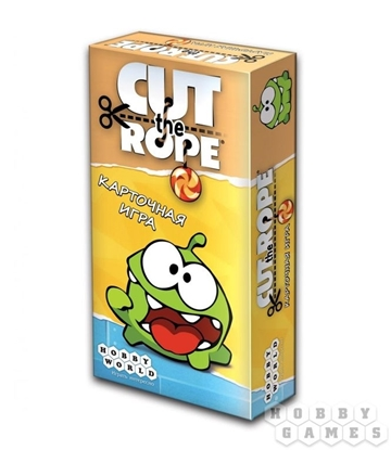 Настольная игра Cut The Rope. Карточная игра