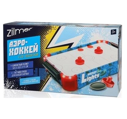 Настольная игра Zilmer Аэрохоккей (50,5х30,5х9,5 см)