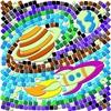 Набор для творчества Светящийся витраж «Далекий космос»