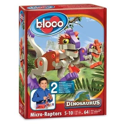 "Конструктор BLOCO Динозавр ""МикроРаптор"""