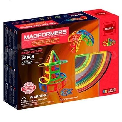 Магнитный конструктор Magformers Curve 50 Set
