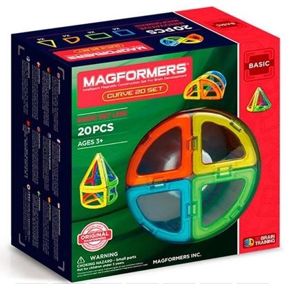 Магнитный конструктор Magformers Curve 20