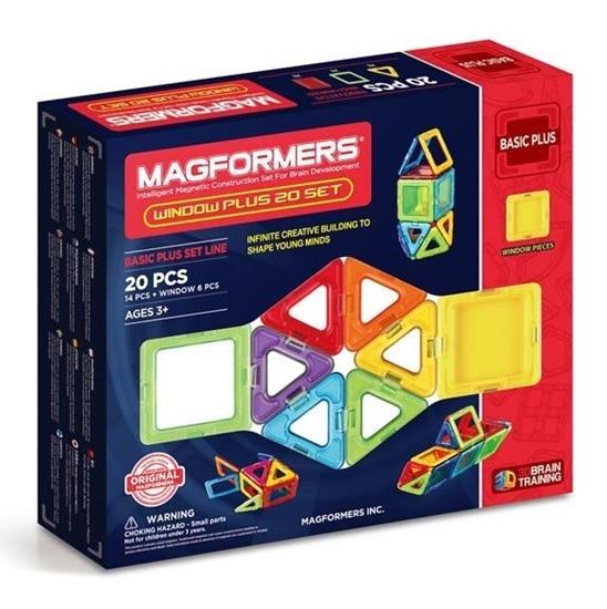 """Магнитный конструктор Magformers """"Window Basic Plus 20 Set"""""""