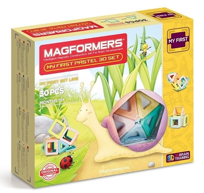 "Магнитный конструктор Magformers ""My First Pastel Set 30P"""