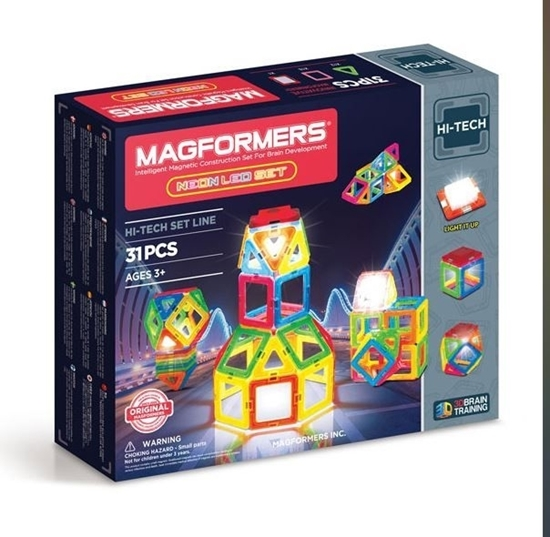 "Магнитный конструктор ""Magformers Neon LED"""
