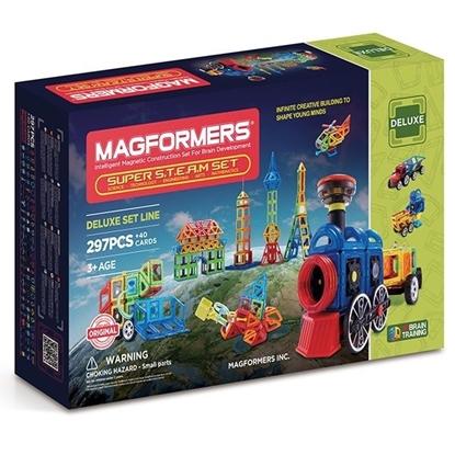"Магнитный конструктор ""Magformers Super Steam set"""