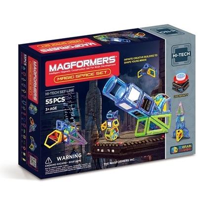 Магнитный конструктор Magformers Magic Space Set (55 дет)
