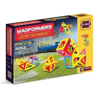 Магнитный конструктор Magformers Tiny Friends (20 дет)