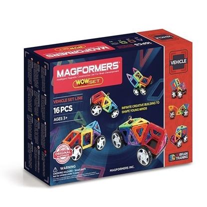 Магнитный конструктор Magformers Wow Set (16 дет)