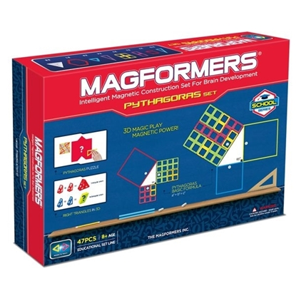 Магнитный конструктор Magformers Pythagoras Set (47 дет)