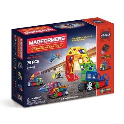 Магнитный конструктор Magformers Dinamic Wheel set (79 дет)