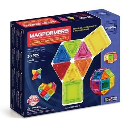 Магнитный конструктор Magformers Window Basic 30