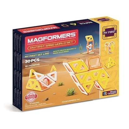 Магнитный конструктор Magformers My First Sand World (30 дет)