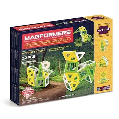Магнитный конструктор Magformers My First Forest World Set (32 дет)