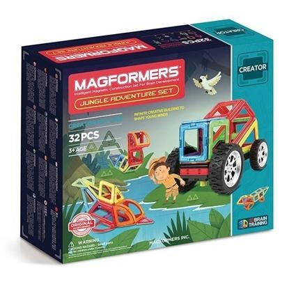 Магнитный конструктор Magformers Adventure Jungle Set (32 дет)