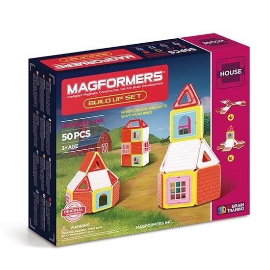 Магнитный конструктор Magformers Build Up Set 50P