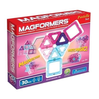 Магнитный конструктор Magformers Pastelle 30