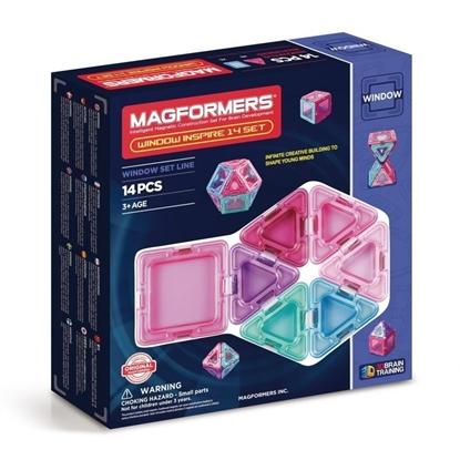 Магнитный конструктор Magformers Window Inspire 14