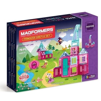 Магнитный конструктор Magformers Princess Castle Set (78 дет)