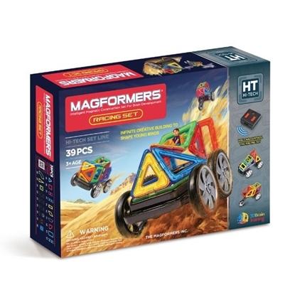 Магнитный конструктор Magformers Racing set (39 дет)