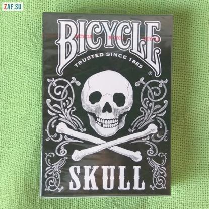 Карты Bicycle Skull, люксовое издание