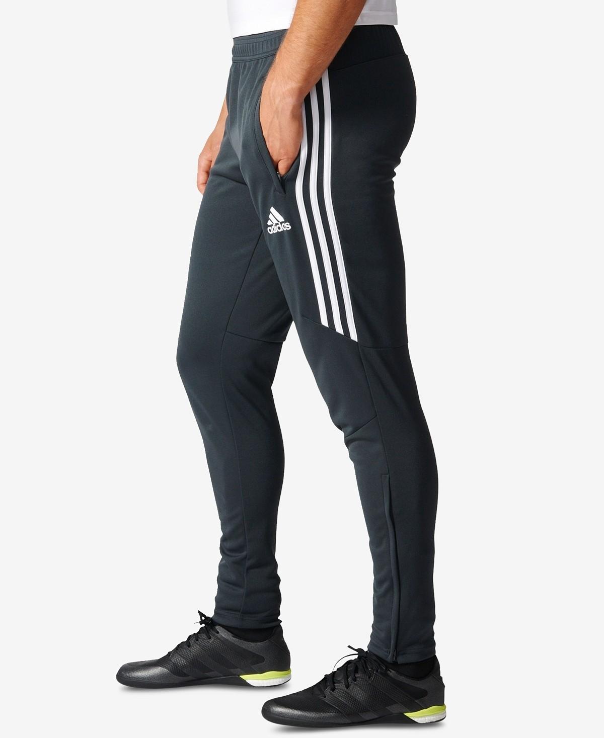 e77a0db1e150 Мужские спортивные штаны Adidas TIRO 17 TRG PNT, тёмно-серый/белый ZAF