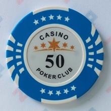 Picture of Фишки для покера CASINO, 14 г, номинал 50