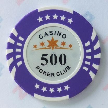 Picture of Фишки для покера CASINO, 14 г, номинал 500