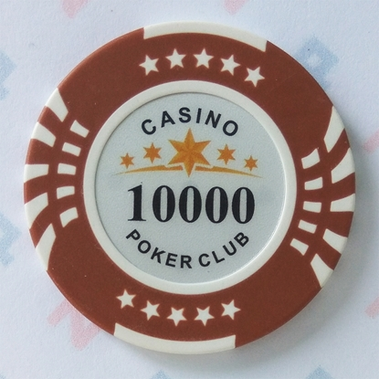 Picture of Фишки для покера CASINO, 14 г, номинал 10000