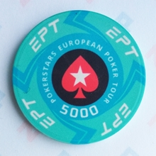 Picture of Ceramic EPT Poker Chips — PokerStars European Poker Tour — Value 5000