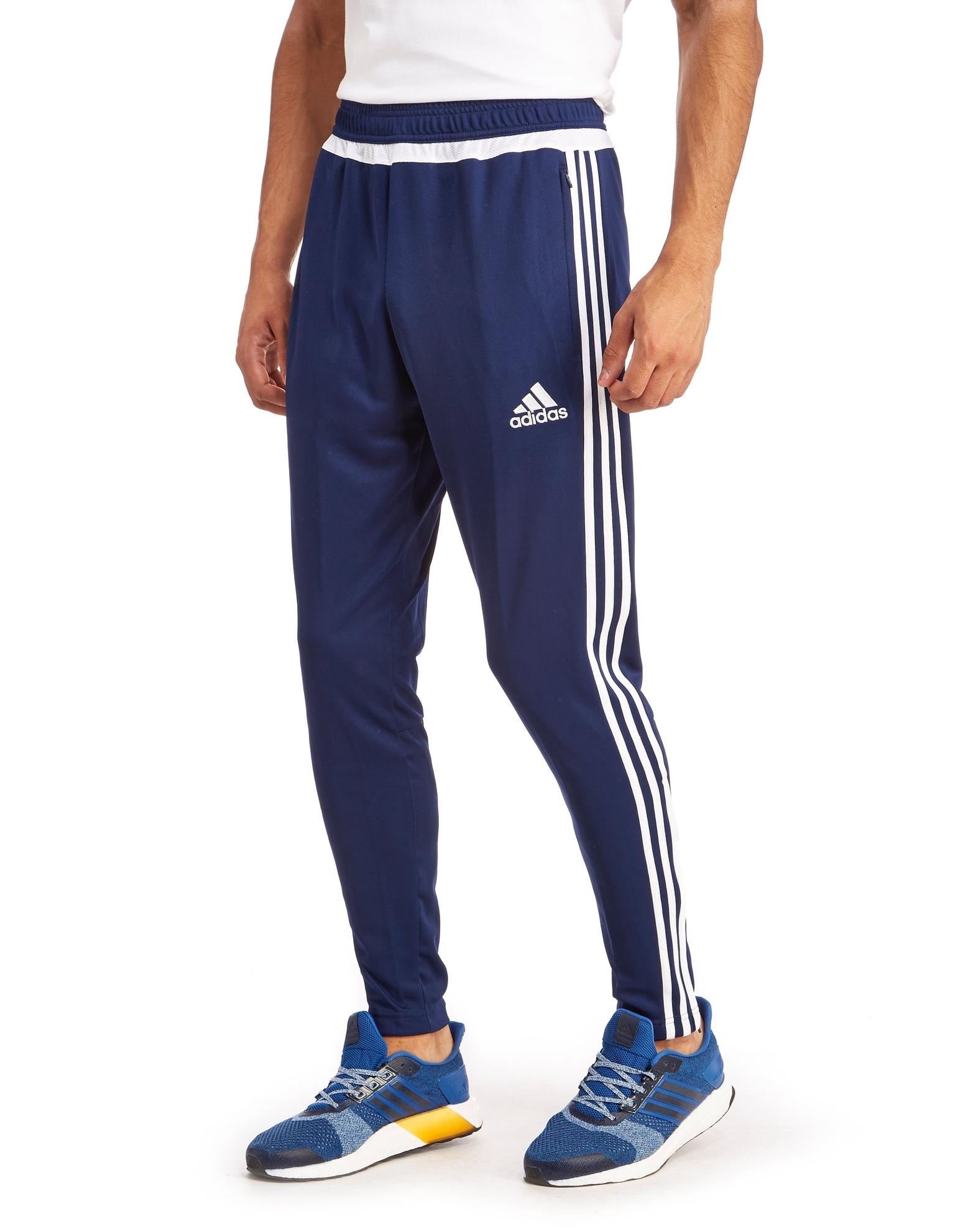18f502ee Мужские спортивные штаны Adidas TIRO 15 TRG PNT, тёмно-синие/бел. ZAF