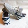 Мужские кроссовки Nike Air Runner, светло-серый/тёмно-синий (реплика)