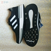 Мужские кроссовки Adidas INIKI Runner, чёрные (реплика)