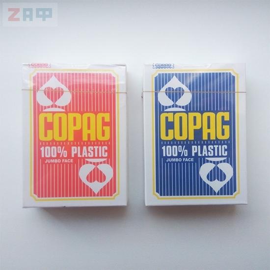 100% пластиковые игральные карты COPAG