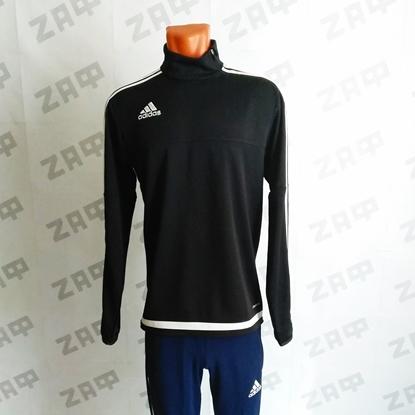 Мужской джемпер Adidas Tiro 15 TRG TOP, ClimaCool, чёрный/белый