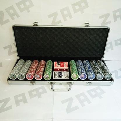 Покерный набор Ultimate Texas Holdem, 500 фишек в чемодане