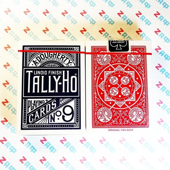 Игральные карты Tally-Ho Fan Фан, пр-во США (USPCC)