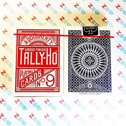 Игральные карты Tally-Ho Circle Круг, пр-во США (USPCC)