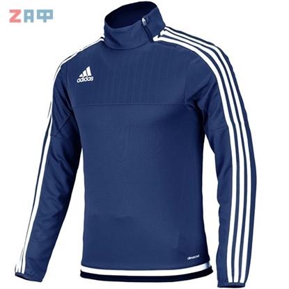 Мужской джемпер Adidas Tiro 15 TRG TOP, ClimaCool, тёмно-синий/белый