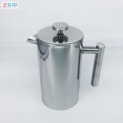 Френч-Пресс (кофеварка), 1000 мл, нержавеющая сталь