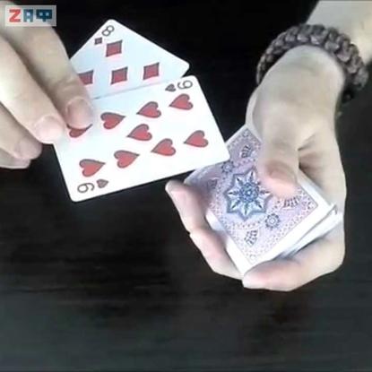 Карточный фокус Нахождение двух карт