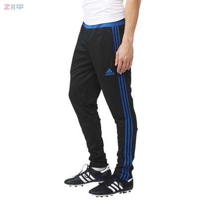 Мужские спортивные штаны Adidas TIRO 15 TRG PNT, чёрный/синий