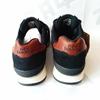 Мужские кроссовки NEW BALANCE Black Dark-Brown Beige, чёрный/тёмно-коричневый/бежевый