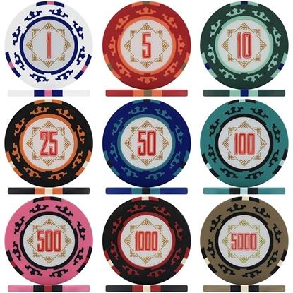 Фишки для покера CASINO ROYALE, 14 грамм