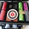 Эксклюзивный покер-набор 200 керамических фишек EPT PokerStars European Poker Tour