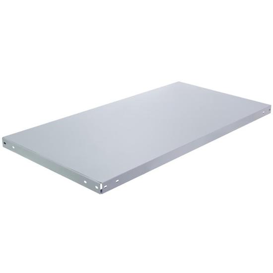 Полка металлическая для стеллажа 100×40 см