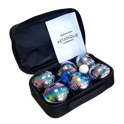 Петанк, радужный, 6 шаров