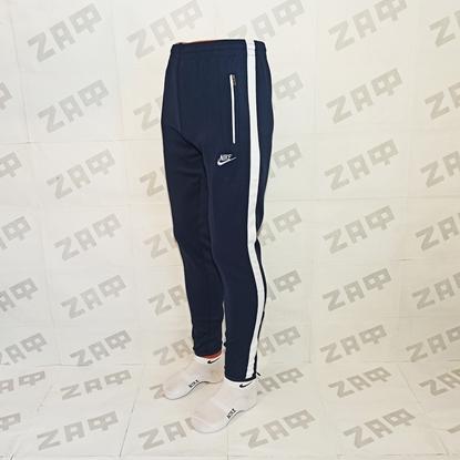 Мужские штаны NIKE EMBR TXTSGN, тёмно-синие (реплика)